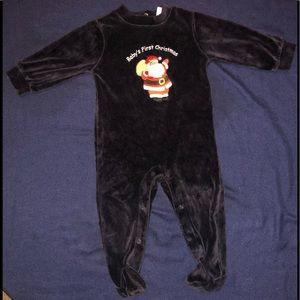 """Other - Like new condition """"my first Christmas"""" footed pjs"""